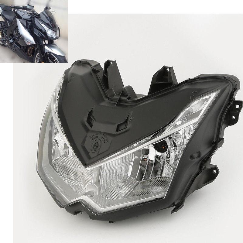 Moto Phare Head Light Lampe de Montage Pour Kawasaki Z1000 2010-2013 11 12