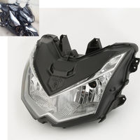 Motorcycle Headlight Head Light Lamp Assembly For Kawasaki Z1000 2010-2013 11 12