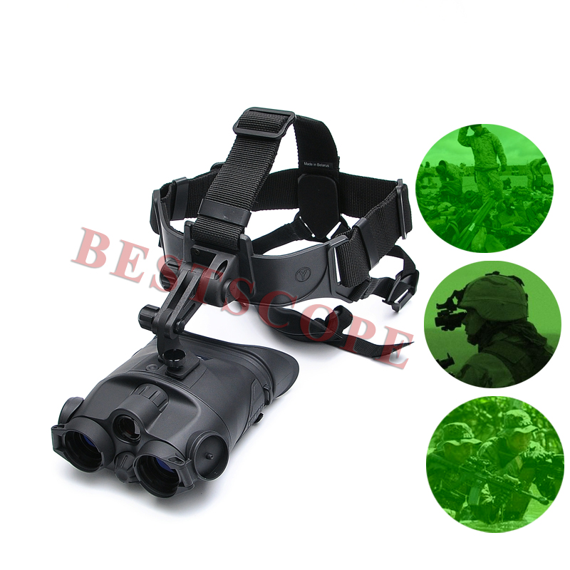 DHL Shipping Yukon Macrobinocular 1x24 Wearing A Helmet Telescopio Infrared Night Vision Binocular Night Vision Telescope ...