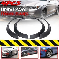 New 4Piece Universal Car For Fender Flares Extension Wide Wheel Arches For VW Golf MK5 MK6 MK7 CC For Civic 9th 10th EK EG S2000