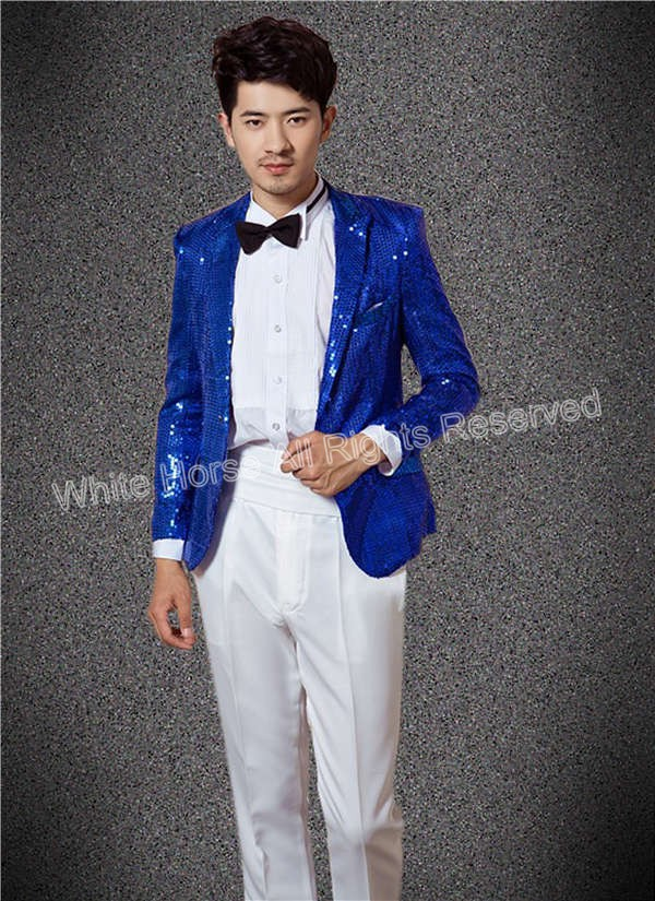 Alliance for Networking Visual Culture » Men Royal Blue Blazer