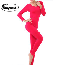 TANGNEST Thermal Underwear Women 2016 Hot Sale Winter Antibiosis Warm Long Johns Underwear Top Pant Sexy Slim Comfortable NBT048