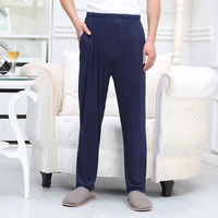Sleep bottoms men long A150 home wear pure cotton casual bottoms