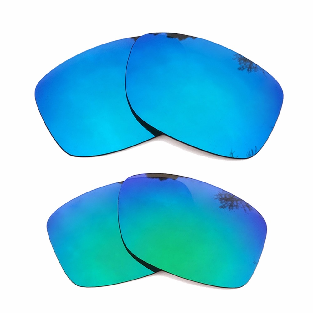 09b4944655 Green Mirrored Ice Blue Mirrored Polarized Replacement Lenses for Holbrook  Frame 100% UVA   UVB-in Accessories from Apparel Accessories on  Aliexpress.com ...