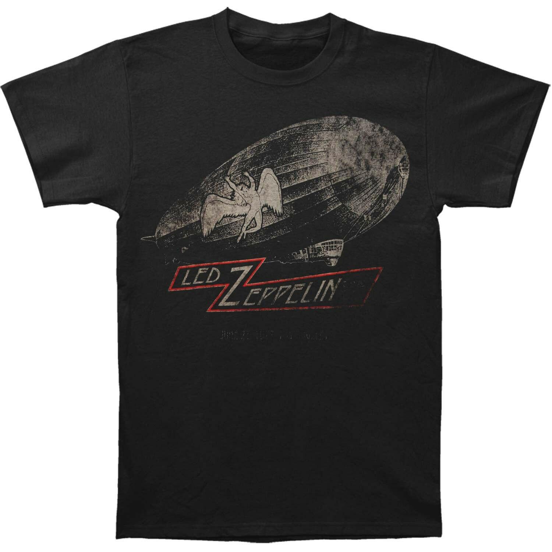 Authentique LED ZEPPELIN LA Forum 1977 avec dirigeable Tour Slim-Fit T-Shirt S-2XL nouveau