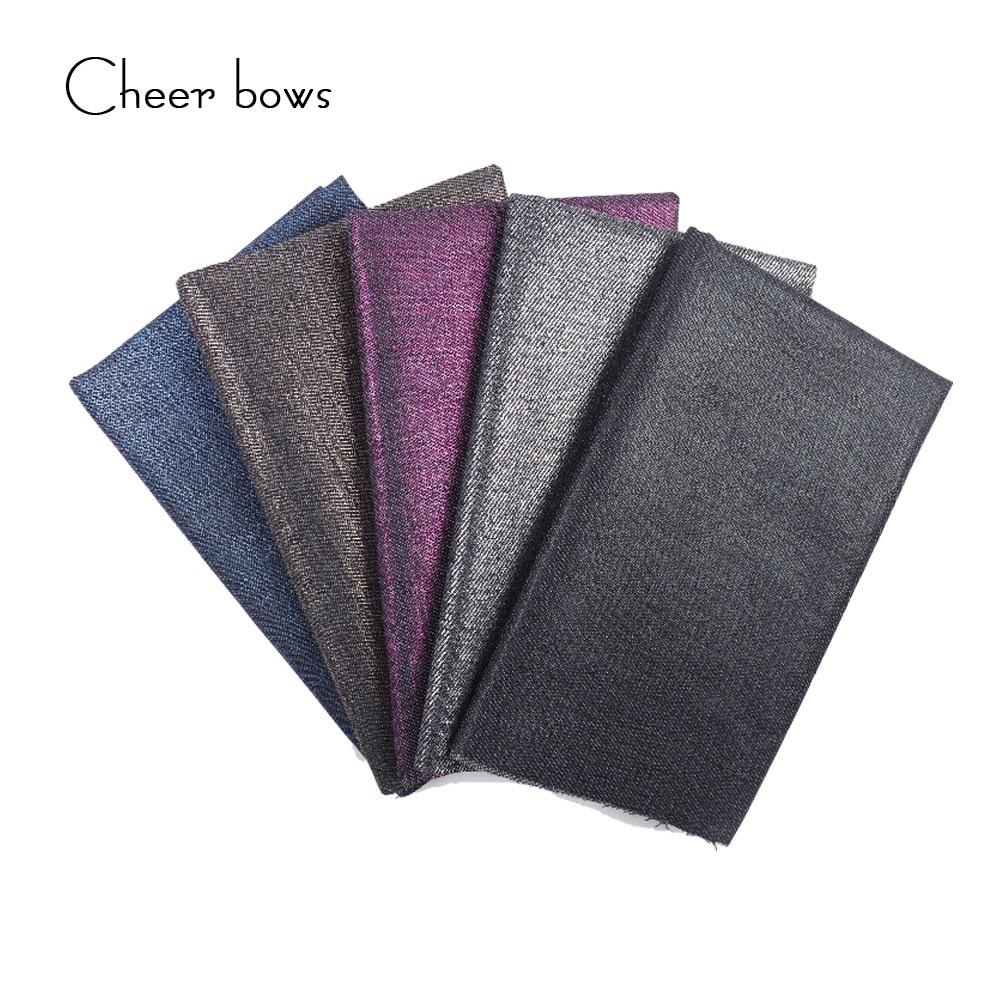 40 * 50 CM de algodón de mezclilla tela de color sólido diy faldas - Artes, artesanía y costura