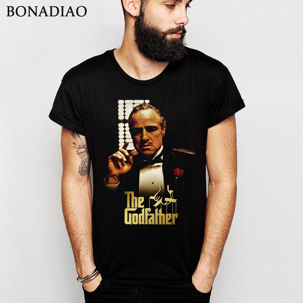 Awesome The Godfather Vito Corleone Graphic Cotton T Shirt Crewneck S-6XL Plus Size Retro Movie Tee Shirt