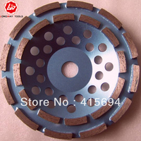 7 Double Rows Diamond Cup Grinding Wheel 180mm Double Row Cup Wheel Double Row Diamond Grinding