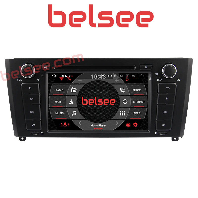 Belsee for <font><b>BMW</b></font> E81 E82 <font><b>E87</b></font> E88 1 series <font><b>Android</b></font> <font><b>9.0</b></font> Car Head Unit GPS Navigation Autoradio Stereo Radio Ram 4GB Multimedia Audio image
