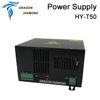 50W CO2 Laser Power Supply HY T50 For CO2 Laser Engraving Cutting Machine