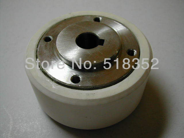 Chmer CH406C White Ceramic Capstan Roller OD57mmx ID10mmx T32mm for WEDM-LS Wire Cutting Wear Parts chmer ch602 lower roller takeup pulley ceramic for wedm ls wire cutting machine parts