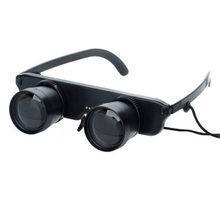 f4422d662 1 pc Portátil 3x28 Optics Binóculos Telescópio Ampliação Lupa Estilo Óculos  de Pesca Ao Ar Livre De Óculos de Alta qualidade