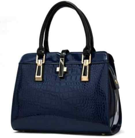 Женские сумки из натуральной кожи, роскошные брендовые сумки из лакированной кожи, 2018 женские сумки через плечо для женщин, сумки-сэтчел через плечо F328