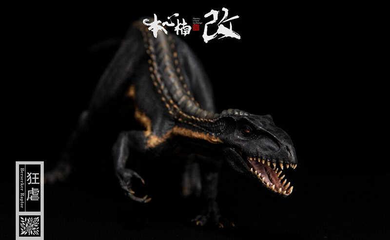 Em estoque New Series Filme 1/35 Escala Bereserker REX EU-Rex 1/35 Scale PVC Figura Modelo de Dinossauro Dinossauro Animal figura com caixa