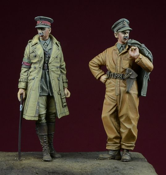 pre order-Resin toys 35024 - WWI British Tank Corps Free shipping romania in wwi
