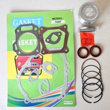 68 มม.แหวนลูกสูบปะเก็นน้ำมัน Seal Rebuild Kit สำหรับ Honda GX200 168F 6.5HP 2kw 2.5kw เครื่องกำเนิดไฟฟ้าเบนซิน Trimmer เครื่องยนต์