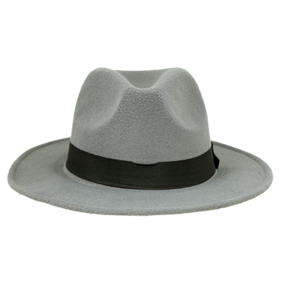 72fb38526dc Dropwow Spring Wide Brim Fedora Men Women Vintage Jazz Hats Fashion ...