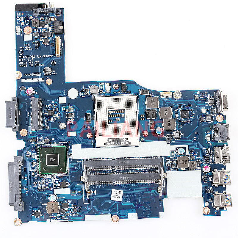 Laptop Motherboard For Lenovo G400S PC Mainboard  HM76 VILG1/G2LA-9902P 14 Inch With CD-ROM Connerter  Full Tesed DDR3