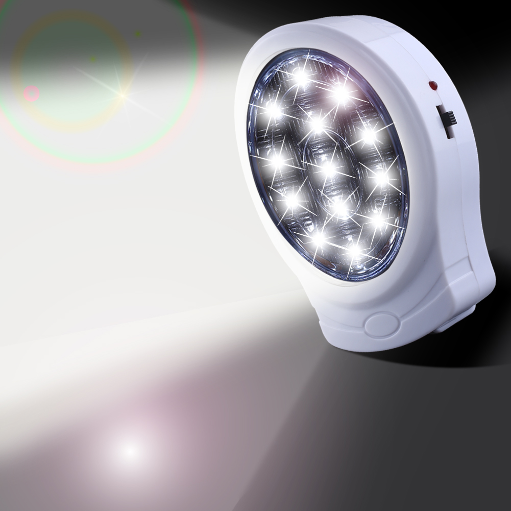 Automatic led energy saving night lamp - 13led Rechargeable Emergency Light Home Office Wall Power Failure Outage Automatic Lamp Bulb Night Light Energy