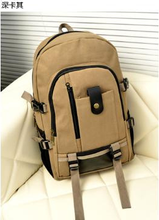 2017 new Korean version of the men's shoulder bag leisure travel canvas student bags fashionable computer backpack