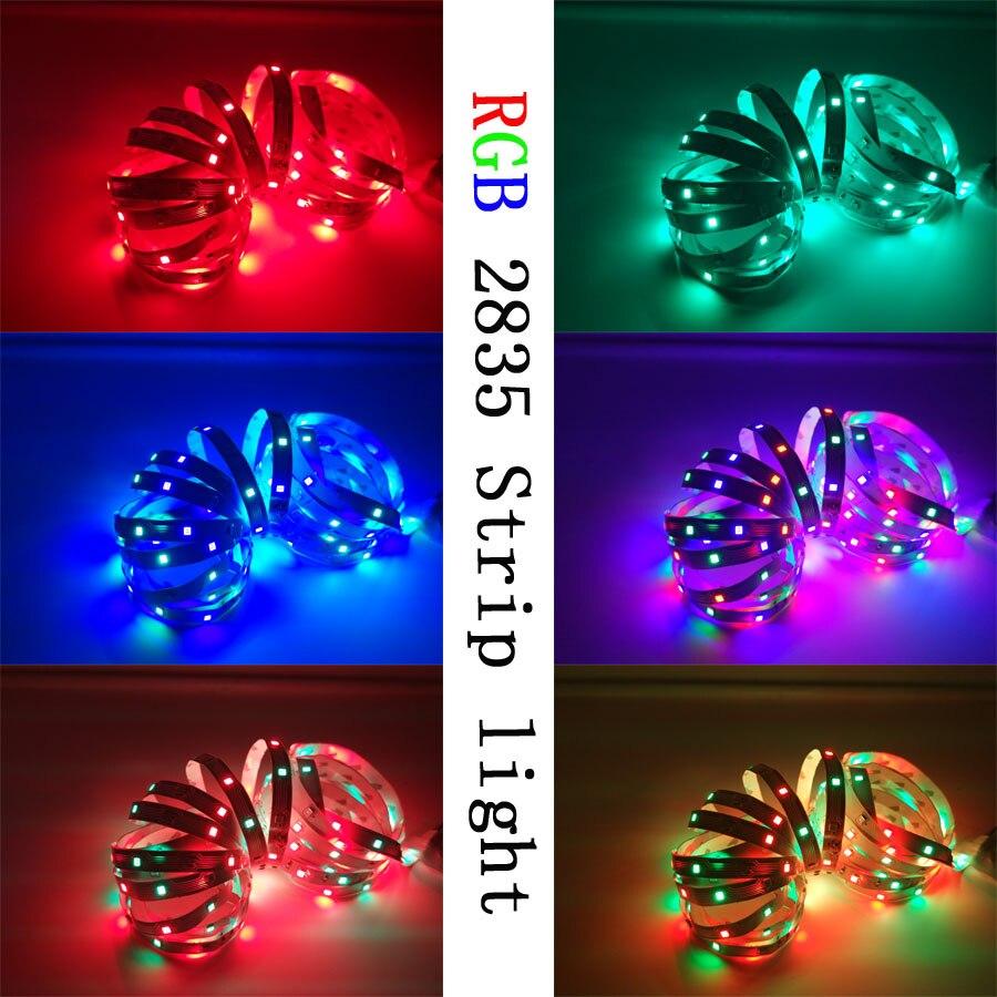 RGB LED Strip 15M 20M Led Light Tape SMD 2835 5M 10M DC 12V Waterproof RGB LED Light diode Ribbon Flexible Controller