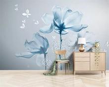 Купить с кэшбэком beibehang Custom photo wallpaper 3d flower wall Modern fashion floral decorative painting papier peint mural 3d wallpaper