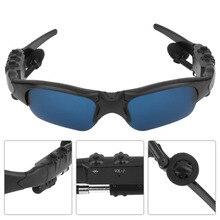 c2840808a3 2018 Bluetooth Sunglasses Smart Wireless Talk Music MP3 Sunglasses Stereo  Headphone Handsfree Headset Polarized Glasses(