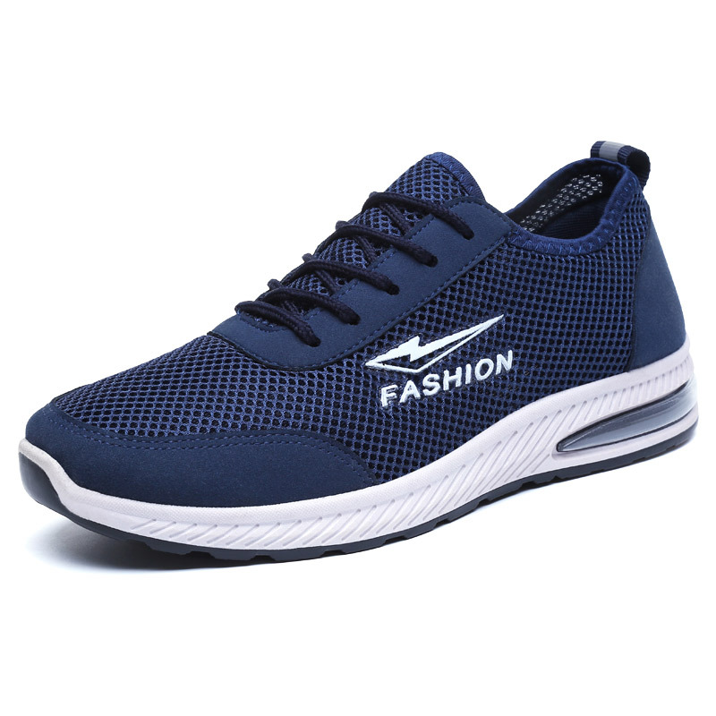 Running Shoes for Men New Hot air Breathable Mesh Lightweight Sports Jogging Walking Com ...