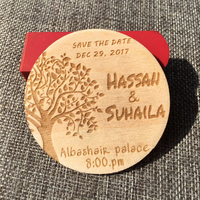 Personalized Engraved Save The Date Wedding Invitation Wooden Tags Wedding Favor Tags Rustic Wedding Bridal Shower