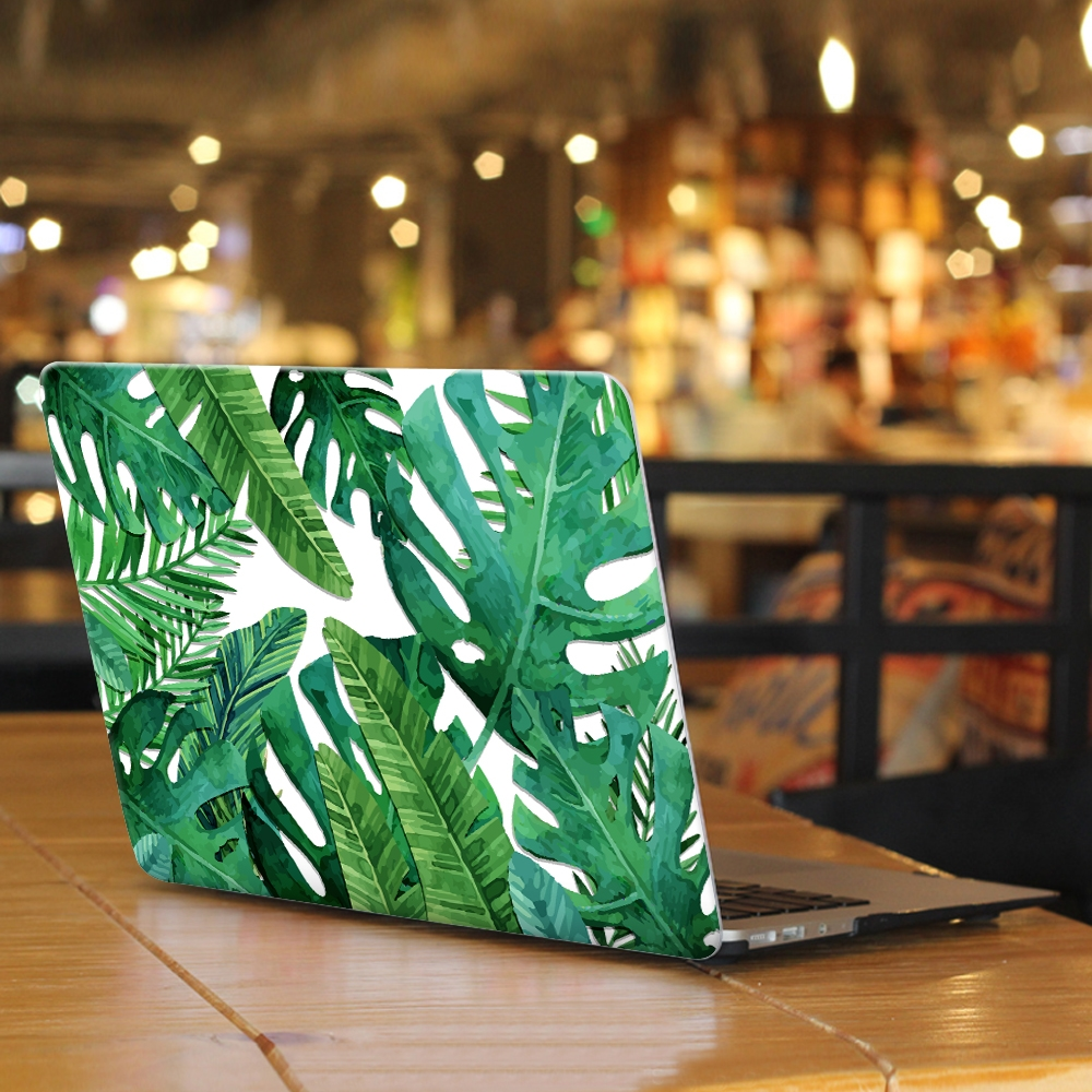 Floral Leaves Laptop Case for Apple Macbook Air Pro Retina 11 12 13 15 inch for New Macbook Pro 13 15 inch with Touch Bar shirtaporter брюки капри