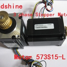 NEMA 23 Leadshine 3 фазы шагового двигателя 573S15-L для станка с ЧПУ