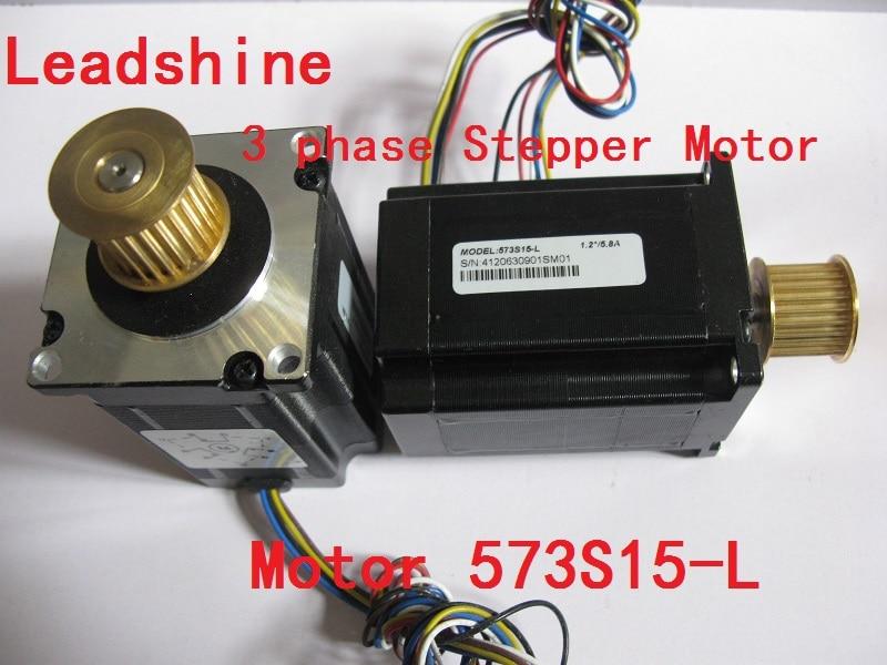 NEMA 23 Leadshine 3 phase Stepper Motor 573S15-L for CNC machine New 3 phrase leadshine 573s15 step motor
