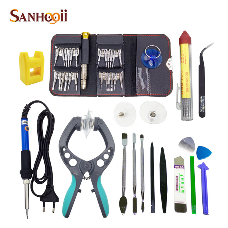e8a294c5761785 41in1 Cell Mobile Phone Repair Tools Screwdriver Plier Pry Disassemble Tools  set Kit For iPhone For Samsung|tool kite|tool small|tool radio - AliExpress