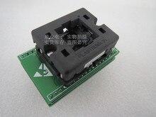 VQFN28 QFN28/DIP 4*4 0.45mm Pinth QFN28 4mm * 4mm * 0.45mm ATMEGA328P MMH IC testen zetel Test Socket testbank blok Aging seat