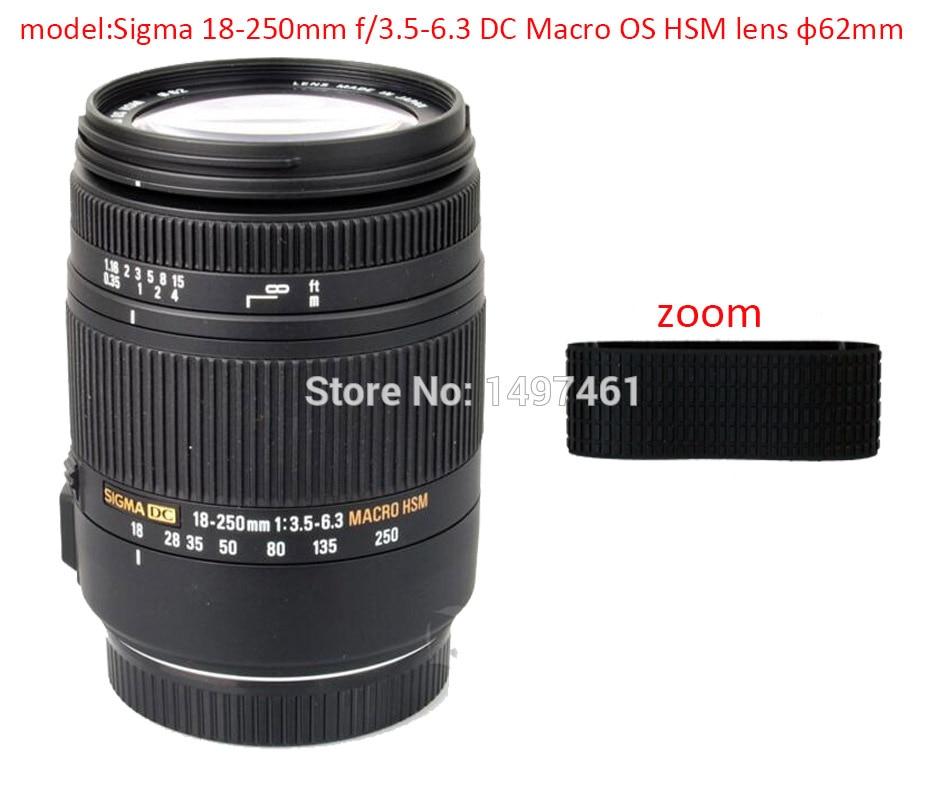 Rubber New Lens Grip Ring Circle For Sigma 24-70mm EX DG HSM Focus Ring Repair