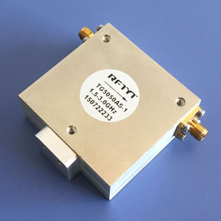 1.5-3.0GHz Broadband Octave Broadband Coaxial Isolator Circulator 1000-3000MHz