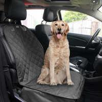 À prova dwaterproof água capa de assento do carro da frente do cão de viagem tampas de assento de carro lavável pet cat cão portador esteira protetor de almofada para carros e suv