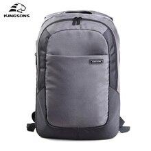Kingsons 15.6 Inch  Laptop Backpacks Men's Nylon Business School Bags Unisex Packsack Waterproof Anti-theft