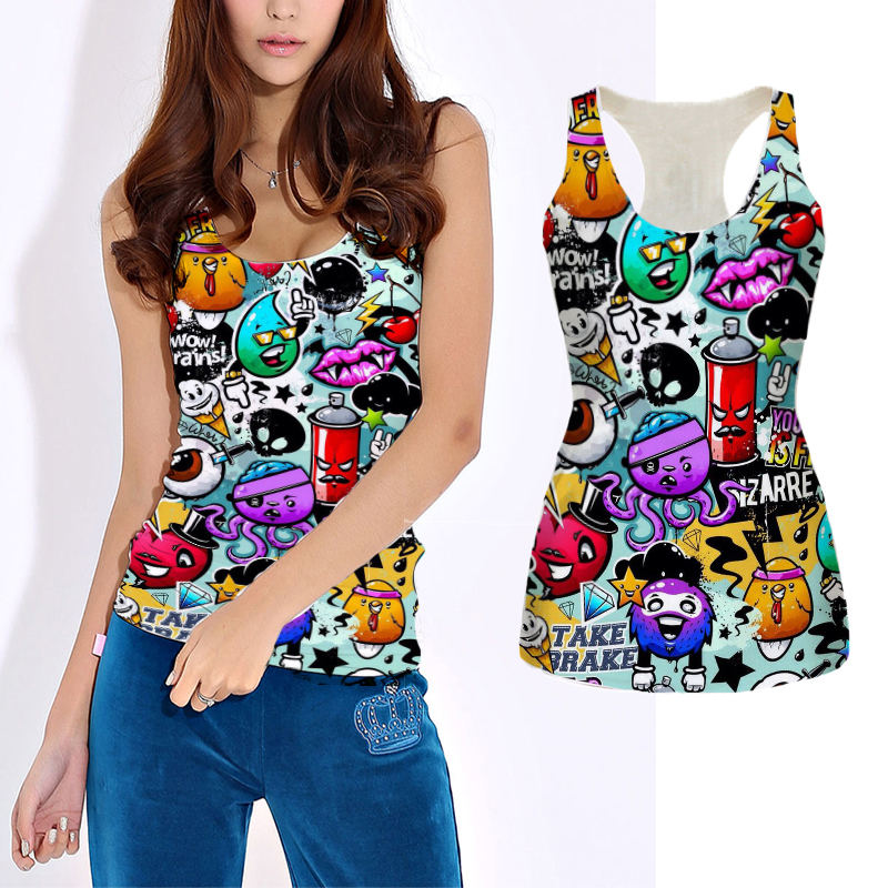 Showtly  FOLLOW THE BLACK RABBIT Printed Women's T Shirt Casual  Super Soft Tee Tops