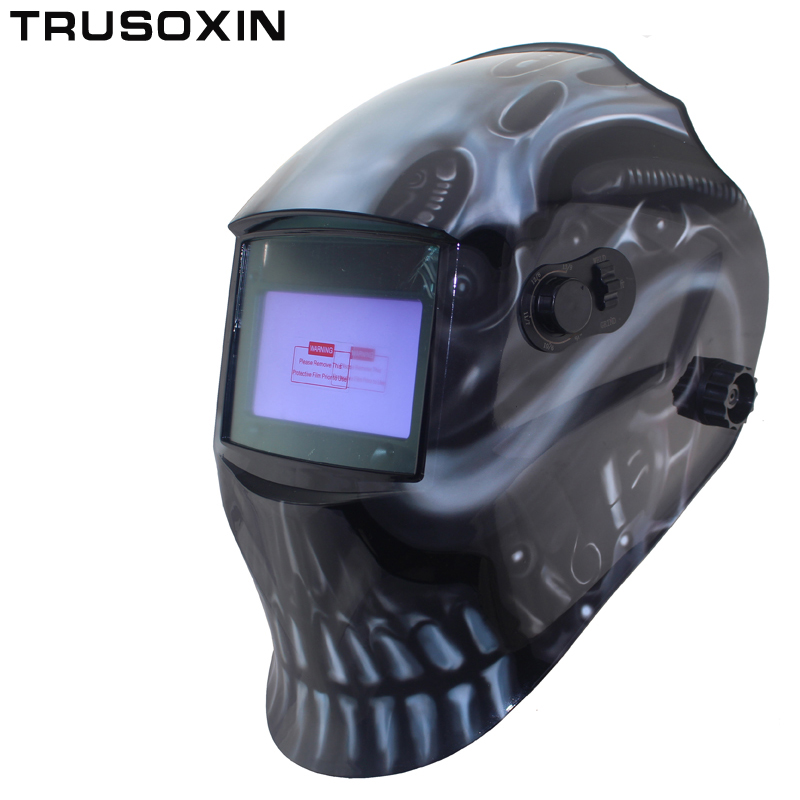 Out adjust Big view eara 4 arc sensor grinding cutting Solar auto darkening TIG MIG MMA welding mask/helmet/welder cap/face mask big view area solar auto darkening filter welding helmet face mask electric welder mask gogglssfor tig mig mma welding machine