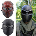 Ear-protective Full Face Mask Airsoft Paintball Mask For halloween Protective Mask CS Wargame Field game Cosplay Movie Prop