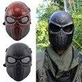 Oreja de protección Mascarilla facial Airsoft Paintball Máscara De halloween Máscara Protectora CS Wargame Campo de juego de Cosplay Película Prop