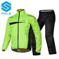 1 SET Original Pole Men Motorcycle Riding Raincoat Women Trekking Clothing Reflective Climbing Scooter Bicycle Raincoat Clothes
