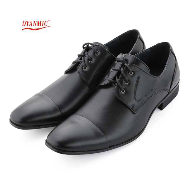 Men Genuine Leather Dress Shoes Oxfords Derby New Men's Black Blazer Shoes For Bussiness Male Social Flat Shoes Free Shipping