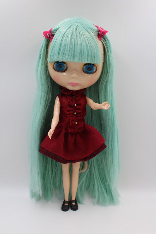 Free Shipping big discount RBL 286DIY Nude Blyth doll birthday gift for girl 4colour big eyes