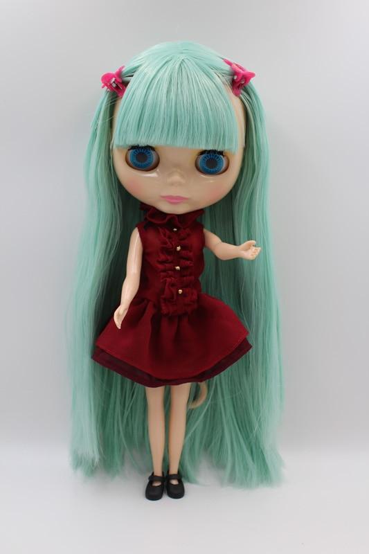 Free Shipping big discount RBL 286DIY Nude Blyth doll birthday gift for girl 4colour big eyes