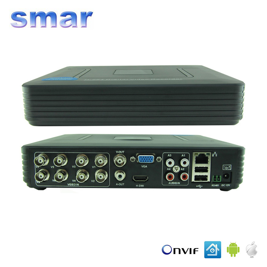 Smar Mini 8CH Full D1 H 264 HDMI font b Security b font System CCTV DVR