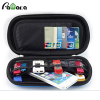 Universal Electronic Accessories Organizer Earphone Wire Flash Drives SD Bank Card USB Data Cable Organizers Storage