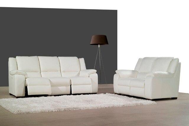 negozio online mucca genuino/reale divano in pelle set divano del ... - Divano Soggiorno Ad Angolo 2