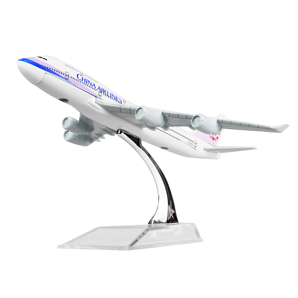 Taiwan China Airlines Boeing 747 16cm Airplane Models Mens Birthday Gift Plane Models Toys Free Shipping ...